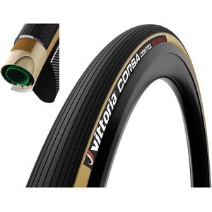 Vittoria Corsa Control Tuubirengas 700x30C, musta/beige musta/beige