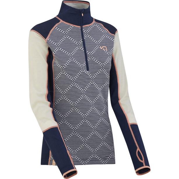 Kari Traa Rett Half-Zip Shirt Damen nava