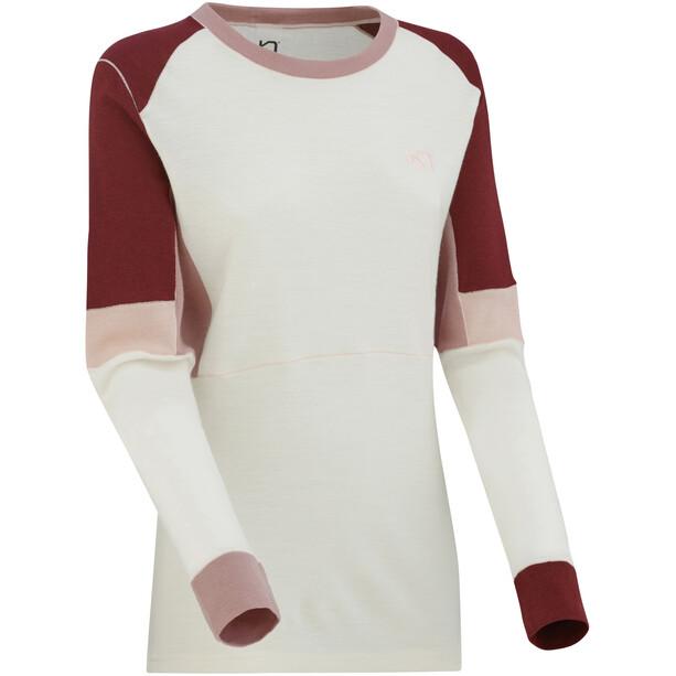 Kari Traa Yndling Langarm Shirt Damen white
