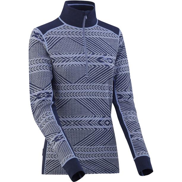 Kari Traa Sjarm Half-Zip Shirt Damen naval