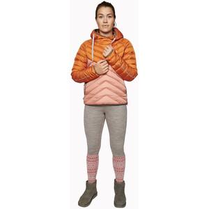 Varg Älgön Daunen Hoody Damen retro orange/pawn pink retro orange/pawn pink