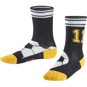 Falke Soccer Socken Kinder black black