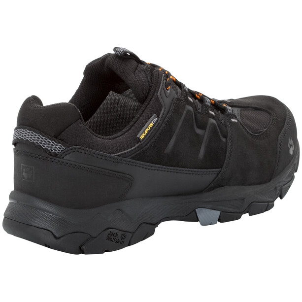 Jack Wolfskin MTN Attack 6 Texapore Low-Cut Schuhe Herren black/orange