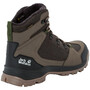 Jack Wolfskin Cold Terrain Texapore Mid-Cut Schuhe Herren coconut brown/black