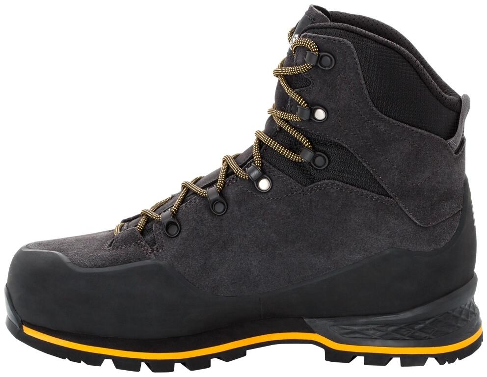 Jack Wolfskin Wilderness XT Texapore Mid Cut Schuhe Herren phantomburly yellow XT