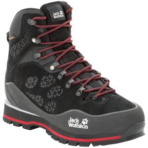 Jack Wolfskin Wilderness Peak Texapore Mid-Cut Schuhe Herren black/red black/red