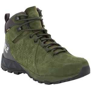 Jack Wolfskin Cascade Hike LT Texapore Mid-Cut Schuhe Herren dark moss/phantom dark moss/phantom