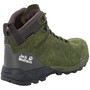 Jack Wolfskin Cascade Hike LT Texapore Mid-Cut Schuhe Herren dark moss/phantom