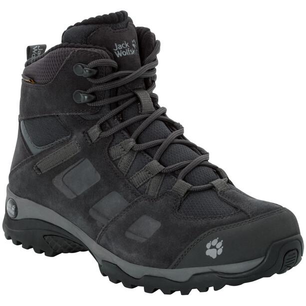 Jack Wolfskin Vojo Hike 2 WT Texapore Mid-Cut Schuhe Damen phantom/dark steel