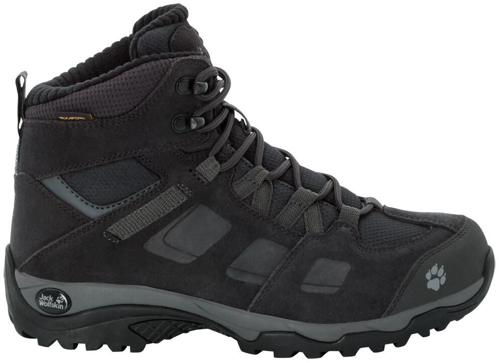 Jack Wolfskin Vojo Hike 2 WT Texapore Mid Cut Schuhe Damen phantomdark steel