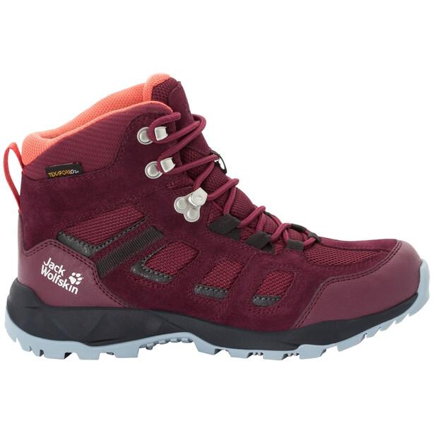 Jack Wolfskin Vojo Hike XT Texapore Mid-Cut Schuhe Damen burgundy/phantom