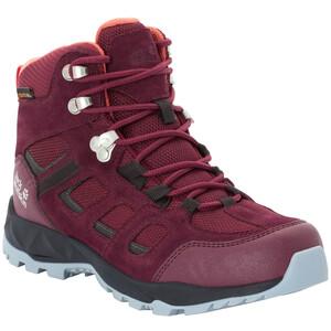 Jack Wolfskin Vojo Hike XT Texapore Mid-Cut Schuhe Damen burgundy/phantom burgundy/phantom