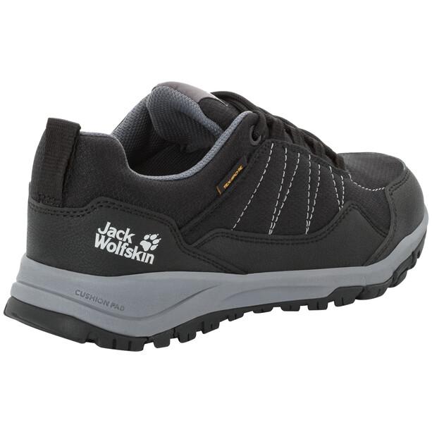 Jack Wolfskin Maze Texapore Low Schuhe Damen black/grey