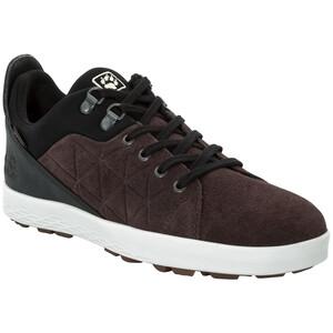Jack Wolfskin Auckland Texapore Low Schuhe Herren walnut/black walnut/black