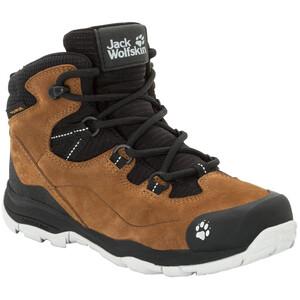 Jack Wolfskin MTN Attack 3 LT Texapore Mid-Cut Schuhe Kinder braun/schwarz braun/schwarz