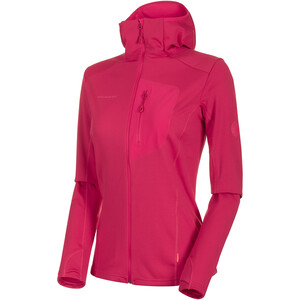 Mammut Aconcagua Light ML Kapuzenjacke Damen dragon fruit dragon fruit