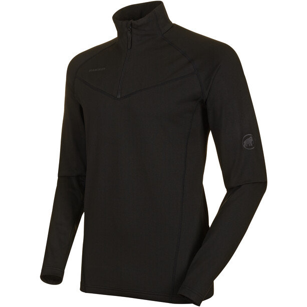 Mammut Snow ML PUII Half Zip Midlayer Herren black