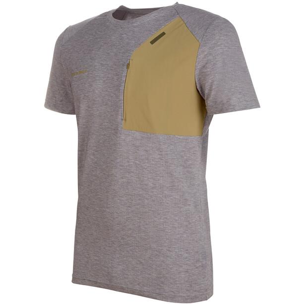 Mammut Crashiano Pocket T-Shirt Herren shark melange-boa
