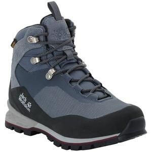 Jack Wolfskin Wilderness Lite Texapore Mid-Cut Schuhe Damen blau blau