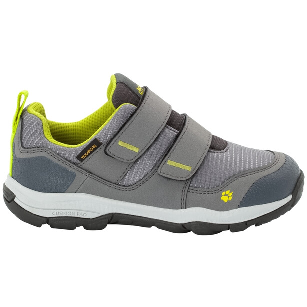 Jack Wolfskin MNT Attack 3 Texapore VC Low Schuhe Kinder grey/lime