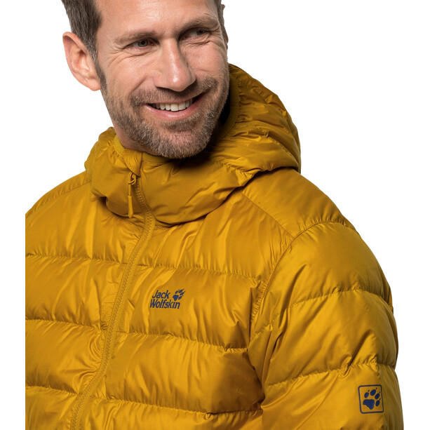 Jack Wolfskin Helium Jacke Herren golden yellow