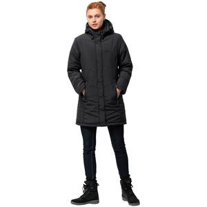 Jack Wolfskin Svalbard Mantel Damen black black