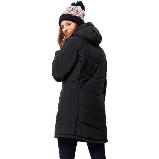Jack Wolfskin Svalbard Mantel Damen schwarz