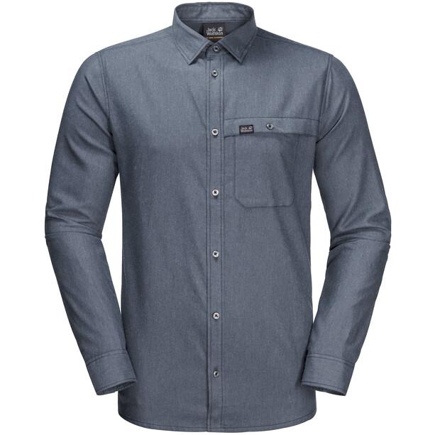 Jack Wolfskin Naka River Shirt Herren night blue