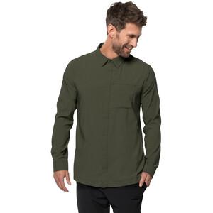 Jack Wolfskin JWP Langarm Shirt Herren green pine green pine