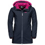 Jack Wolfskin Kissekat Mantel Mädchen midnight blue