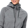 Jack Wolfskin Sky Thermic Kapuzenjacke Damen medium grey