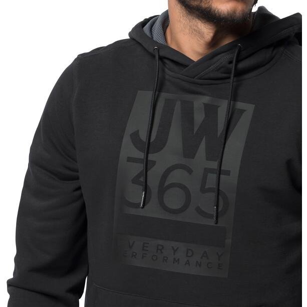 Jack Wolfskin 365 Hoody Herren black