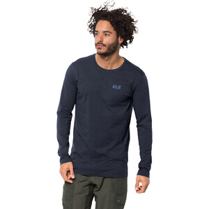 Jack Wolfskin Essential Langarm Shirt Herren night blue night blue
