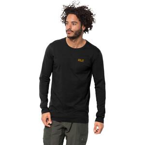 Jack Wolfskin Essential Langarm Shirt Herren black black