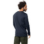 Jack Wolfskin Mountain Langarmshirt Herren night blue