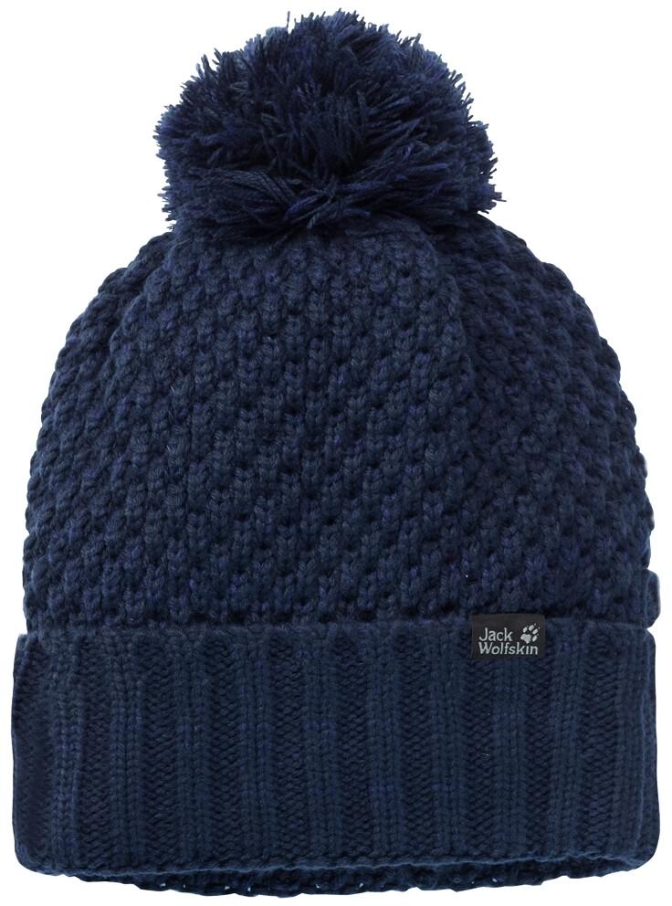 Jack Wolfskin Highloft Knit Cap Damen midnight blue