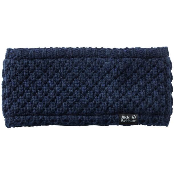 Jack Wolfskin Highloft Knit Stirnband Damen midnight blue