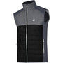 Dare 2b Coordinate Woll Weste Herren black/aluminium grey/ebony grey