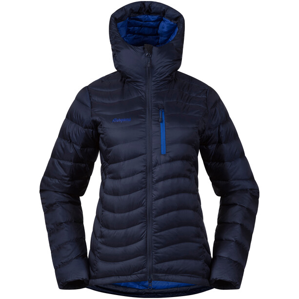 Bergans Cecilie Down Light Jacket Dam Navy/Ink Blue