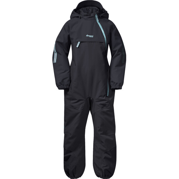Bergans Lilletind Insulated Coverall Barn Solid Charcoal/Light Greenlake