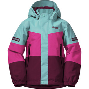 Bergans Lilletind Insulated Jacket Barn Beet Red/Raspberry/Light Greenlake Beet Red/Raspberry/Light Greenlake