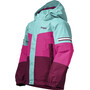Bergans Lilletind Insulated Jacket Barn Beet Red/Raspberry/Light Greenlake