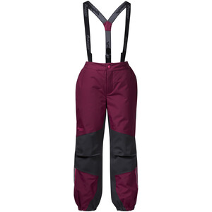 Bergans Lilletind Insulated Pants Barn Beet Red/Solid Charcoal Beet Red/Solid Charcoal