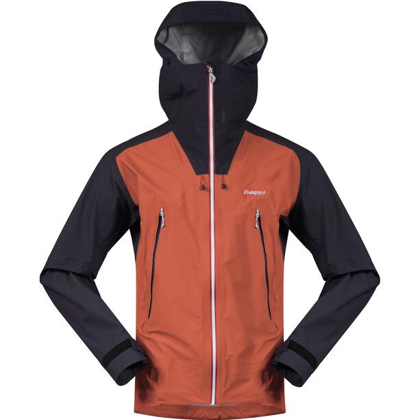 Bergans Slingsby 3L Jacket Herr röd/blå