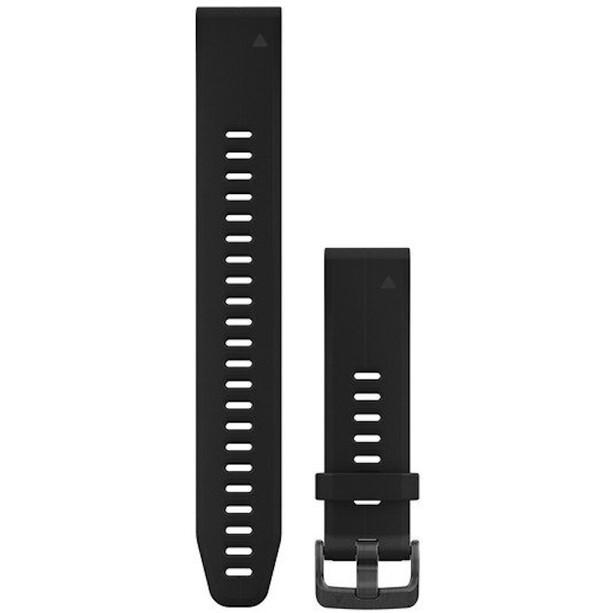 Garmin QuickFit Silikon Uhrenband L 20mm black