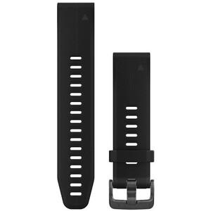 Garmin QuickFit Silikon Uhrenband 20mm black black