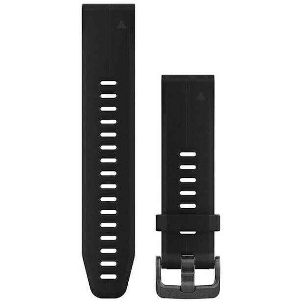 Garmin QuickFit Silikon Uhrenband 20mm black