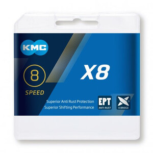 KMC X8 EPT Kæde 7-/8-speed