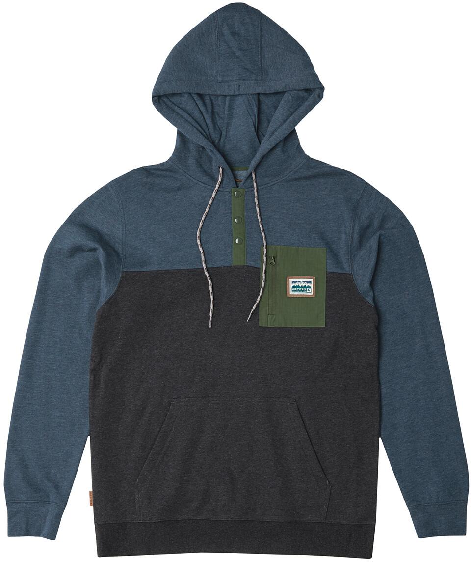 Mens TNF The North Face Tundra 200 PO 1//2 Zip Fleece Jacket Pullover Black Matte