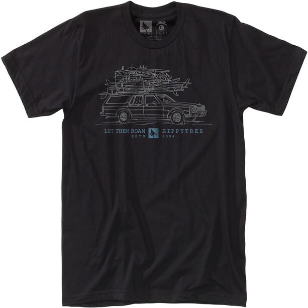 Hippy Tree Wagon T-Shirt Herren black